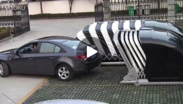 Takie rzeczy tylko w Chinach! Zobacz przenośny garaż ...