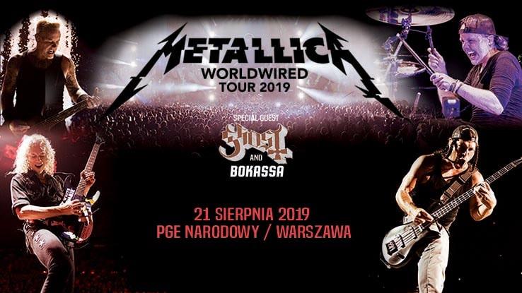 Największy fan zespołu Metallica! Był na wszystkich